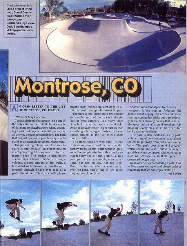 Montrose Review